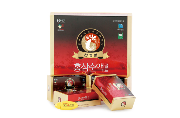 RED GINSENG EXTRACT DRINK GOLD(80ml)